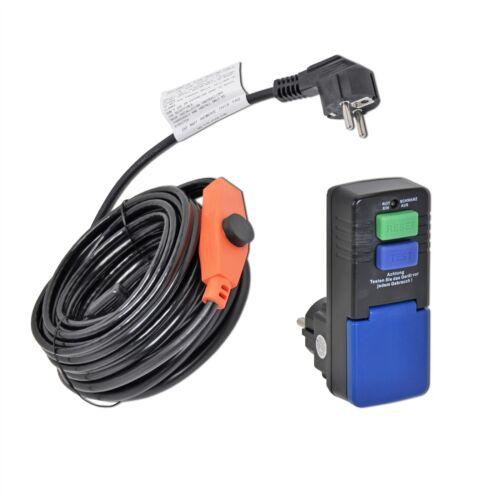 4m VOSS Heizkabel IPX7 Frostschutz Begleitheizung FI-Schalter selbstregelnd