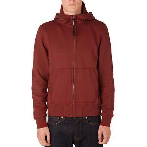 Medium Burgundy Goggle Hooded Sweatshirt Company Cp FxZXq0F
