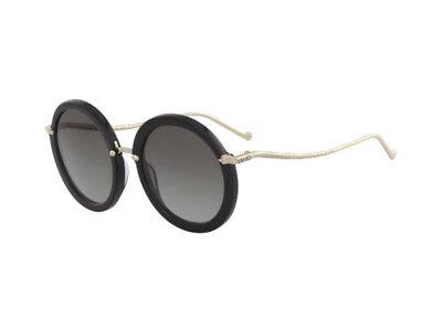 Occhiali da Sole LIU JO LJ710S donna round nero ebony grigio  001