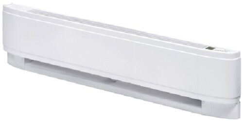 "Dimplex PC2005W31 20/""  500W 240V White Electric Baseboard Heater w Thermostat"