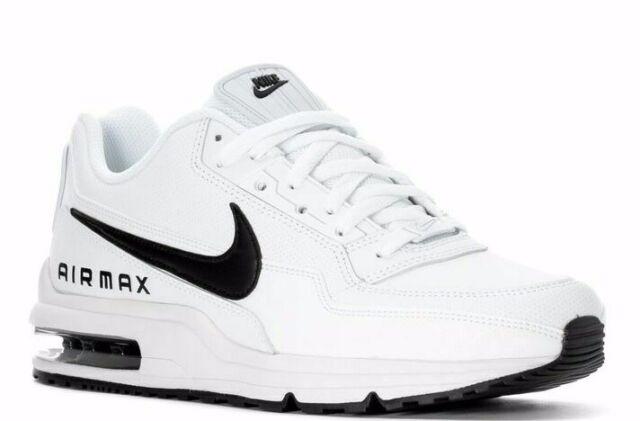 Nike Air Max LTD 3 White Black Men's Sneakers Shoes 687977 107 NWB All Sz $120