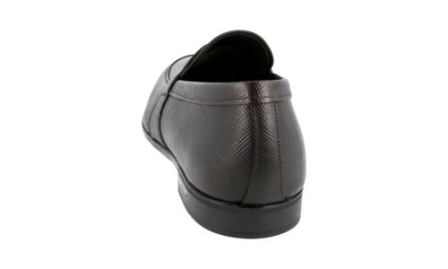 40 Loafer 40 Shoes Penny 2de072 Brown Luxury Nuovo 5 Prada 6 Nuovo Saffiano vagxqtP