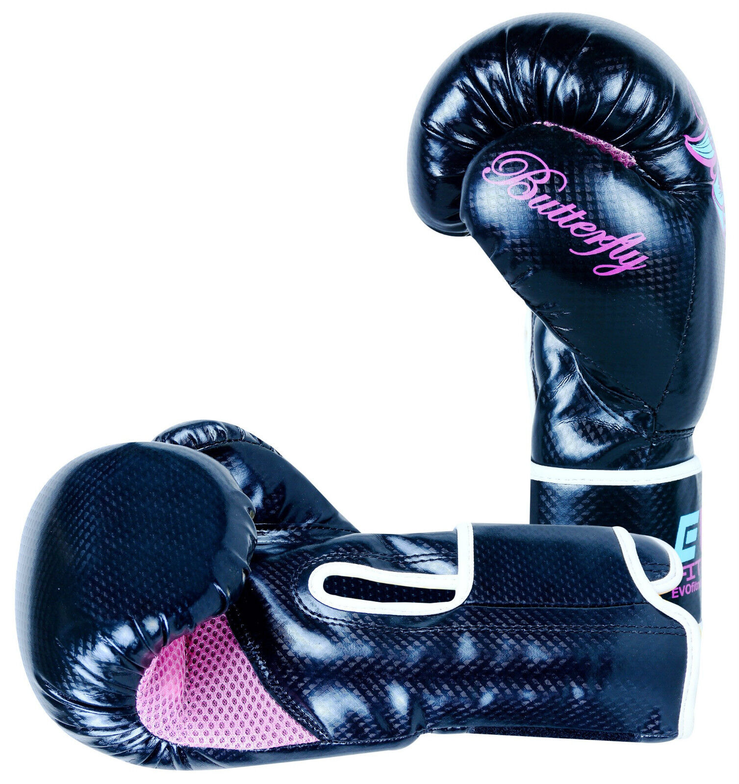 Evo Fitness Boxing Gloves: Evo Ladies Pink Boxing Gloves Kids GEL MMA Punch Bag Kick
