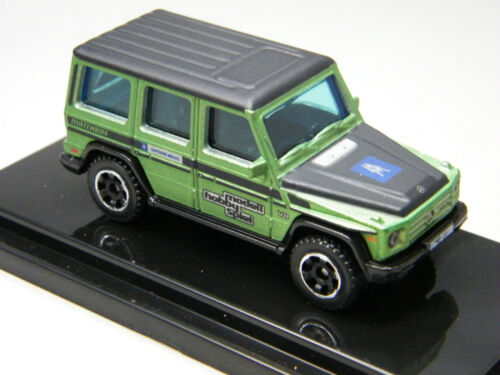 B 1of125 Matchbox 2018 Leipzig fair Mercedes Benz Clase G class g550 Green
