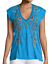 Johnny-Was-JWLA-Vernazza-Deep-Scoop-Tee-Women-039-s-Top-Embroidered-J15918 thumbnail 1