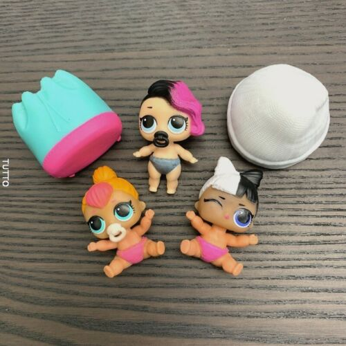 SERIES 2 dolls SNUGGLE BABE Rocker SDFR Lot 3 LOL Surprise LiL Sisters L.O.L