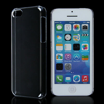 Skin For iPhone 5C Clear Crystal Transparent Ultra Thin Hard Snap-On Case Cover