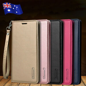 For-Samsung-S10-S9-S8-S10e-Note-9-8-Magnetic-Flip-Leather-Wallet-Card-Case-Cover