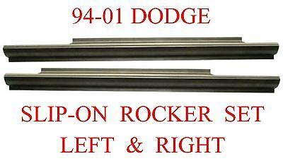 Regular /& Club Cab Ram Truck Left /& Right 94 01 Dodge Slip-On Rocker Panel Set
