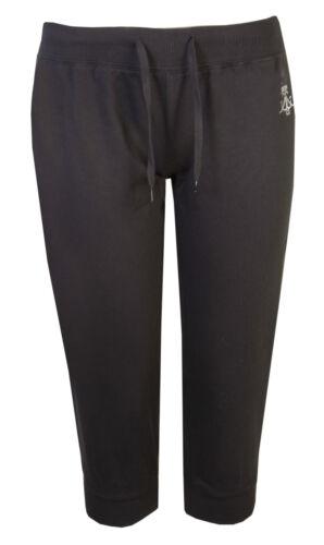 Da Donna Pantaloni Sportivi Donna Pantaloni corti da palestra 3//4 Yoga Danza Brody /& Co Crop Nero