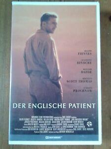 Der englische Patient * VHS * Ralph Fiennes, Juliette Binoche, Willem Dafoe ... - Wiesbaden, Deutschland - Der englische Patient * VHS * Ralph Fiennes, Juliette Binoche, Willem Dafoe ... - Wiesbaden, Deutschland