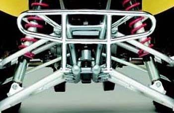 Duncan Chrome Front Bumper TRX450R 450R 04 05 06 07 08