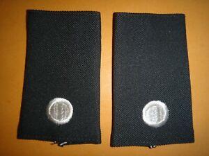 Paire De États-Unis Armée Junior Rotc Cadet 2nd Lieutenant Rang Slip-On