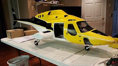 800 Size BELL 222 RC HELICOPTER | eBay