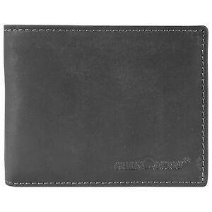 Vintage-Black-Porte-monnaie-cuir-12-5-cm-Black
