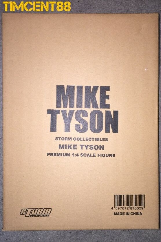 Ready  Storm Toys Collectibles 1 4 Mike Tyson PREMIUM FIGURE Heavyweight Boxing