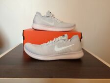 60a9a880ad1b item 1 Nike Free RN Flyknit 2017 White Platinum BNIB UK9 EUR 44 CM 28 US 10  -Nike Free RN Flyknit 2017 White Platinum BNIB UK9 EUR 44 CM 28 US 10