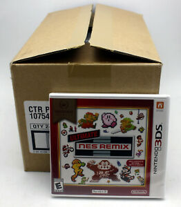 Nintendo Selects Ultimate NES REMIX US NTSC 3DS Release Factory Sealed