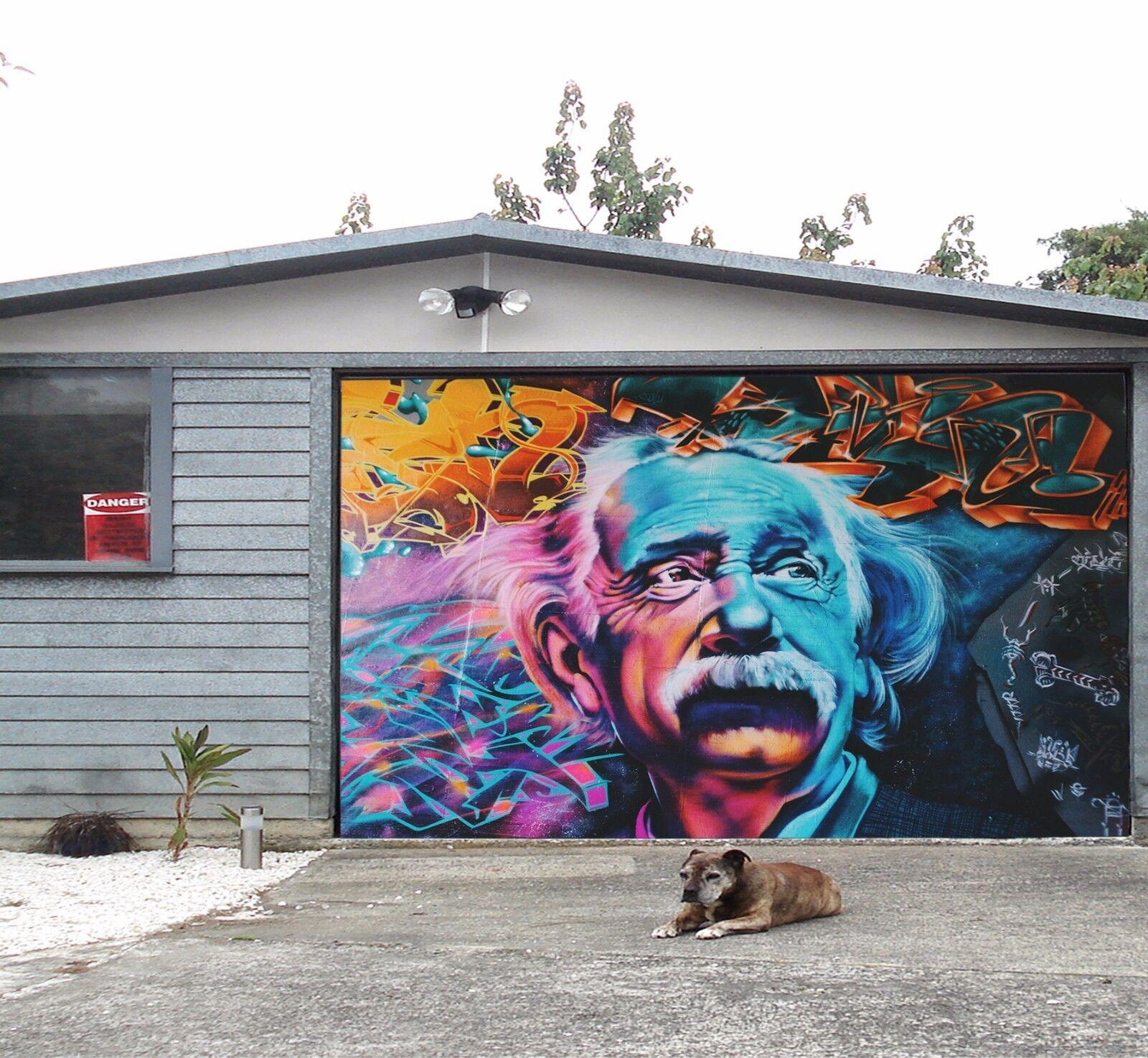 3D Character 12 Garage Door Murals Wall Print Decal Wall Deco AJ WALLPAPER UK
