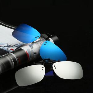 Moderno-LENTE-POLARIZADA-UV400-Gafas-de-sol-con-Clip-Gafas-Conduccion