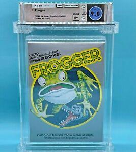FROGGER - WATA 9.0 A+  Atari 2600 - Parker Brothers - NEW  - NO RED STRIPE RARE