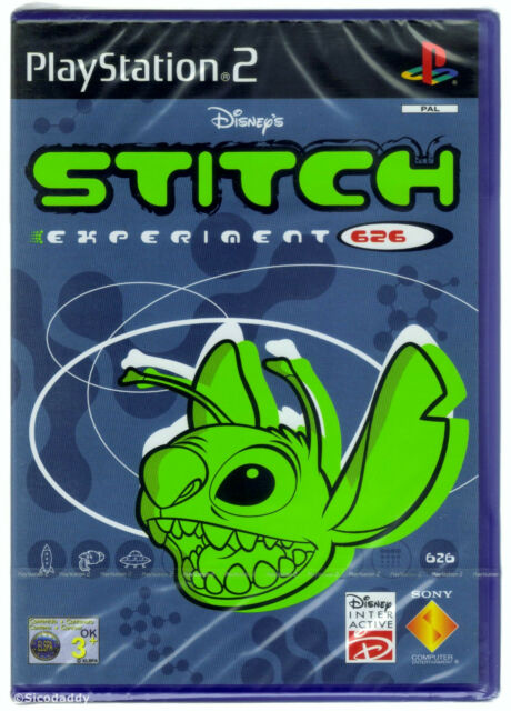 PS2 Disney's Stitch: Experiment 626 (2005), UK Pal, New & Sony Factory Sealed