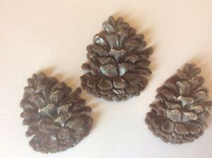 acorns berries Edible fondant pumpkins UK Edible woodland pine cones nuts