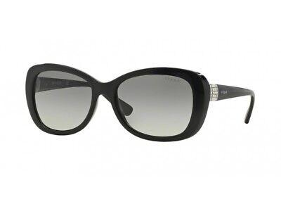 Flight Tracker Occhiali Da Sole Vogue Sunglasses Vo2943sb Nero Grigio Gradient W44/11 Brividi E Dolori