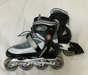 Schwinn-Quality-Adjustable-Roller-Blades-In-Line-Skates-Size-6-To-7-5