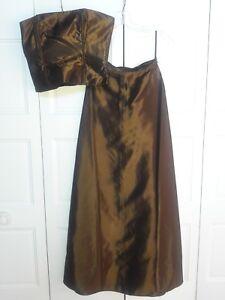 jessica mcclintok 2 piece corset dress size 2  ebay