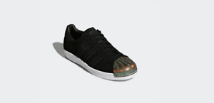 5 Sneakers Femmes Superstar 80s Adidas Originals En Toe NoirTaille Metal 9 Bnib FJuT1Kc3l