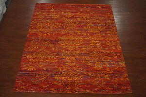 8X10-Modern-Bamboo-Silk-Area-Rug-New-Oriental-Hand-Knotted-Carpet-8-x-9-11