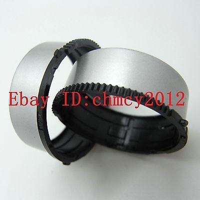 Lens Gears Tube Barrel Ring For Nikon S3100 S4100 S4150 S2600 Repair Part Silver