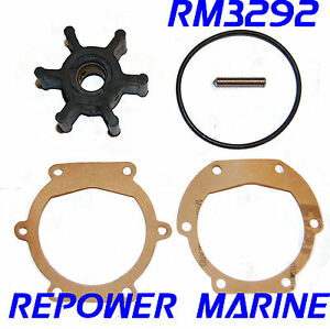 mercruiser water pump impeller replacement instructions