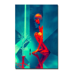 blade runner 2049 movie 2017 canvas poster print 8x12 20x30 inch ebay