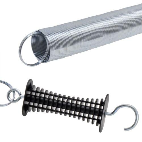2x Torgriff mit Feder und 4x Isolator Torgriff Weidezaun Torfeder Elektrozaun