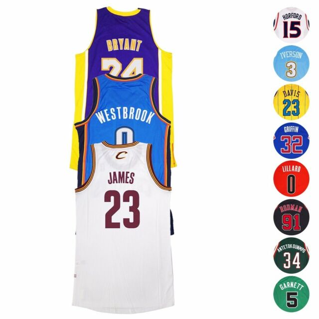 newest 4657f a7023 NBA Adidas Authentic On-Court Climacool Player Revolution 30 Jersey Men's