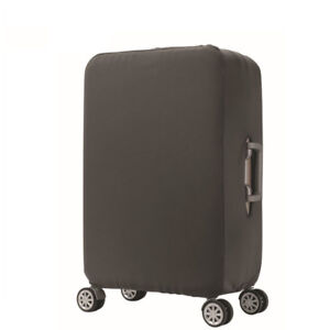 """Plain Travel Luggage Cover and Suitcase Protector, Grey XL, 29-32"""" Luggage"""