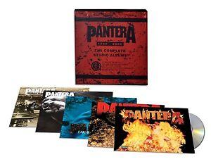 PANTERA-COMPLETE-STUDIO-ALBUMS-1990-2000-5-CD-NEUF