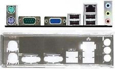 ATX diafragma i/o Shield asus p5g41t-m lx3 #435 Io nuevo backplate New Bracket