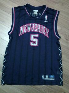 fa4da9acb NBA Basketball Jersey Jason Kidd  5 New Jersey Nets Kids Youth M ...