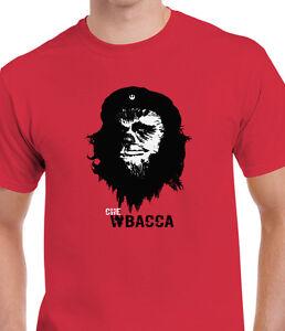 Star Wars Chewbacca Che Guevara Mens Parody T Shirt Tee Vader Yoda
