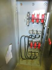 Siemens Dtf364r 200 Amp 600 Volt 3 Pole 4 Wire Double Throw Switch Ats370
