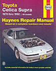 Toyota Celica Supra (1979-1992) Automotive Repair Manual by J. H. Haynes, Mike Stubblefield (Paperback, 1988)