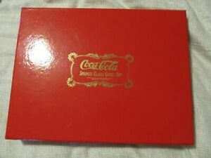 1996 FRANKLIN MINT Coca-Cola Stained Glass CHESS SET 24K GOLD PLATED