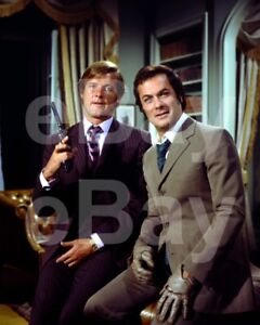 The-Persuaders-TV-Roger-Moore-Tony-Curtis-10x8-Photo