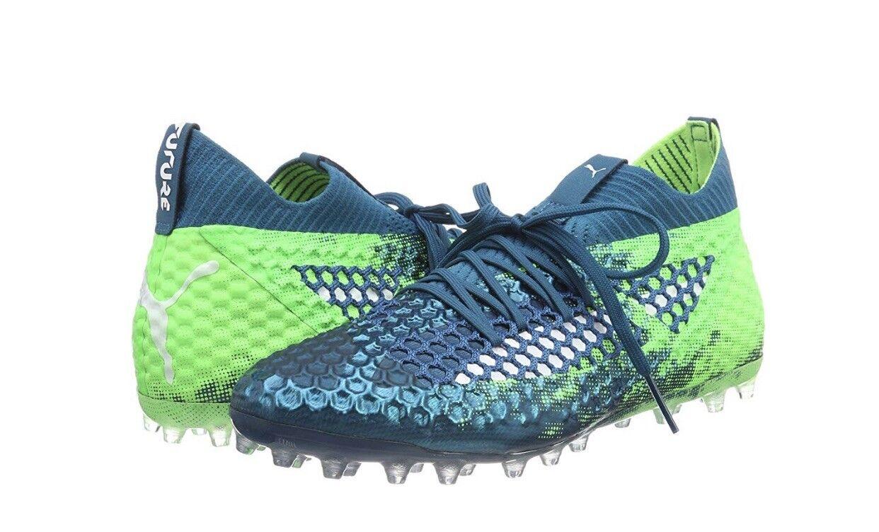 Puma Future 18.1 18.1 18.1 Deep Laoon-Weiß-Grün FG Schuhes Uk Größe 6 83c26c