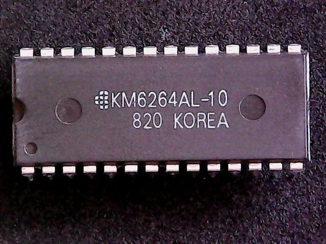 KM6264AL-10 - Samsung Integrated Circuit (DIP-28)