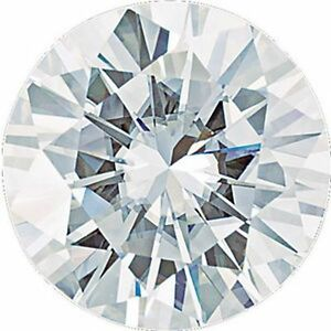 .50 Ct Forever One Moissanite Loose Stone Round Cut 5 mm