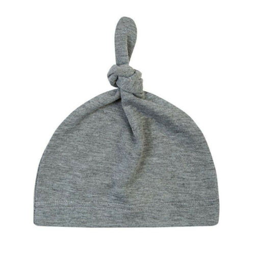 Newborn Baby Boy Girl Knot Beanie Hat Infant Toddler Soft Cotton Cap Headwrap